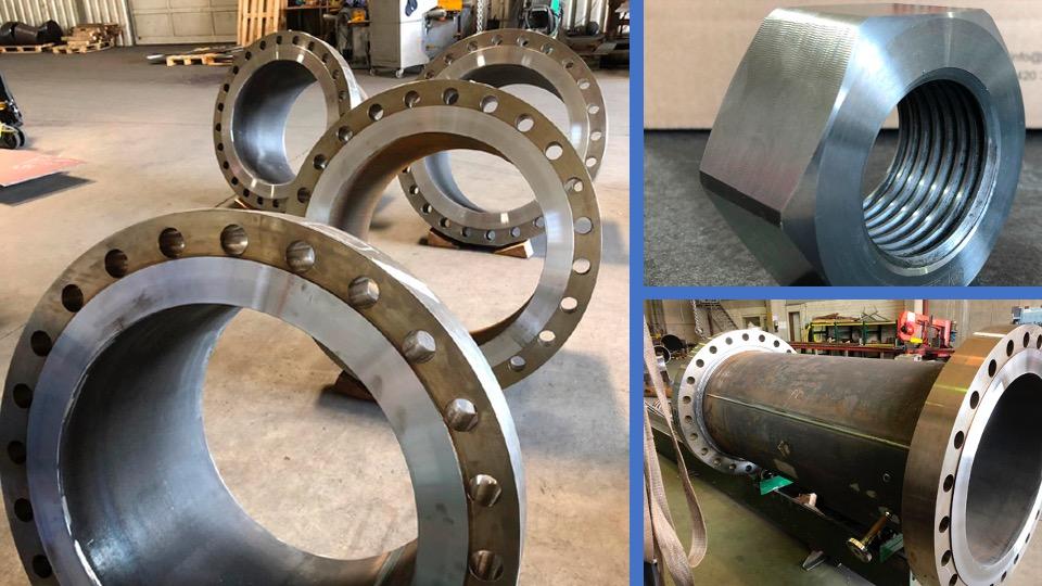 Industristål Specialkomponenter til kraftvarmeværker